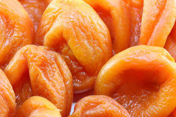 orange dried apricots