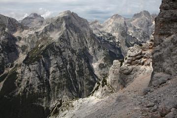 Vrata Valley in the Julian Alps, Slovenia.