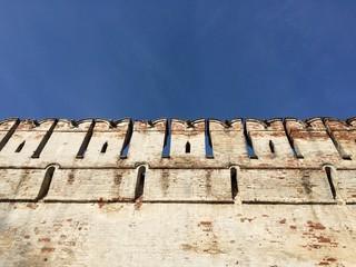 Стена Новодевичьего женского монастыря