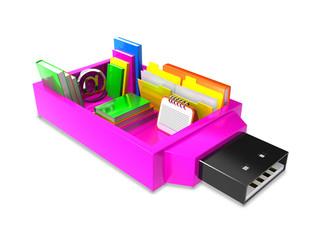 Pendrive archive - connect