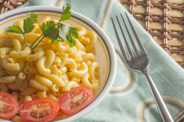 Elbow Macaroni and Cheese