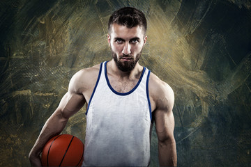 Attraktiver Basketballspieler