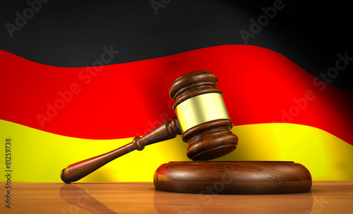 German Law And Justice Concept - 81259738
