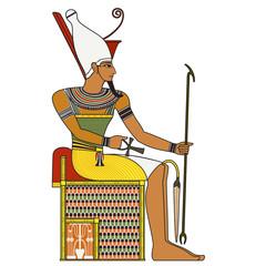 figure of ancient egypt pharaoh