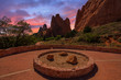 Sunset Image of the Garden of the Gods. - 81263531