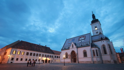 Zagreb timelapse