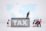 Entrepreneurs with a tax burden