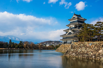 Matsumoto Castle is one of the most complete and beautiful Japan
