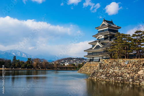Matsumoto Castle is one of the most complete and beautiful Japan - 81270704