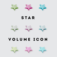 Icon Star Volume Pack 1