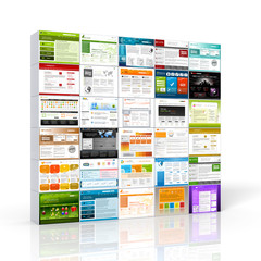 Webdesign, Templates, Vorlagen, Webdesigner, Webtemplates, Wall