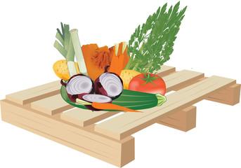 trasporto verdura