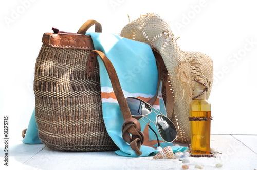 sac de plage - 81275715