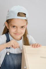 Girl clothing collector furniture screw screw-Allen