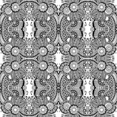 Black and white seamless pattern,