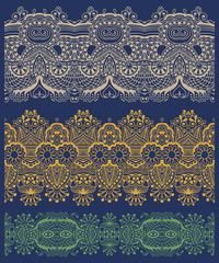 ethnic floral paisley stripe pattern