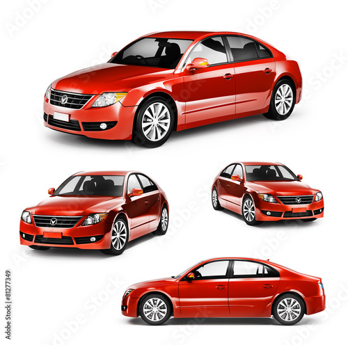 Contemporary Shiny Luxury Transportation Performance Concept - 81277349