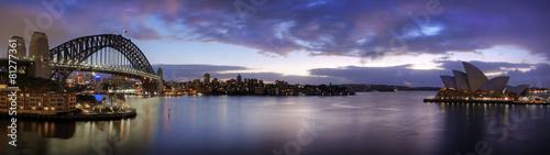 Fotobehang Monument Sydney harbour
