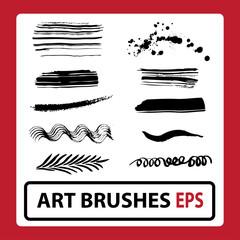 Art brushes Eps