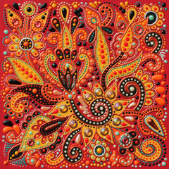 authentic original handmade craftwork painting