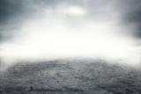 Mist on the road