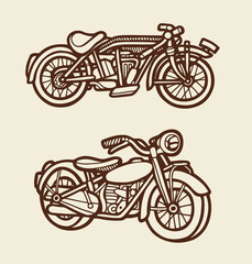 Motorbike sketch 01