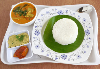 South Indian Meal