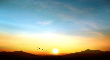 sky photo beautiful sunset