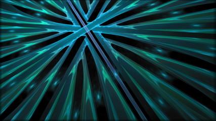 Dynamic Blue Colorful Swirls
