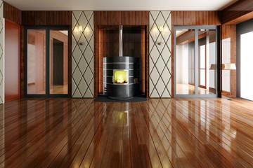 Fireplace I