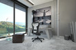 Architectural Interior Design for a Home Office