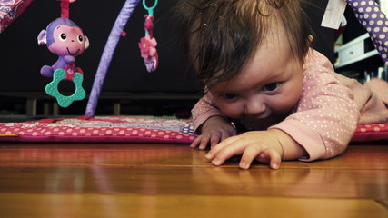 Baby Making Crawl Attempt