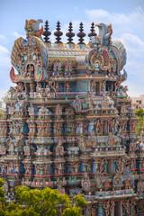 Hindu Temple - Madurai - India © mrallen