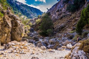 Wanderung durch Imbros-Schlucht auf Kreta