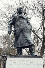 Statue of Winston Churchill, Parliament square