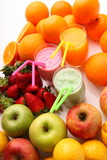 Obraz na płótnie frutta e frullati