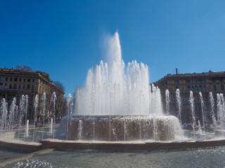 Fountain in Milan