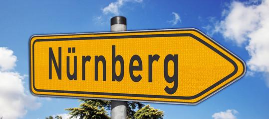 Wegweiser Nürnberg