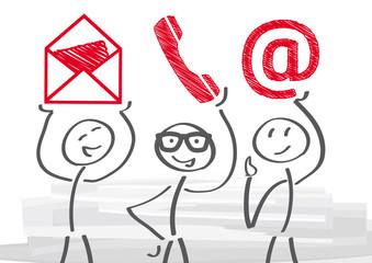 Adresse, Telefon E-Mail