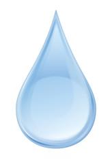 Wassertropfen - hell