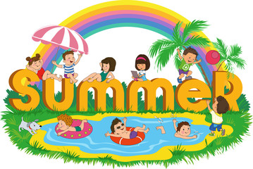 children_summer