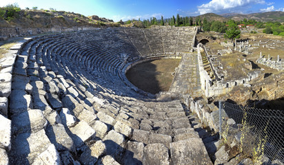 The Theater at Aphrodisias was highly advanced for its time. The