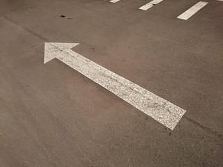 Flèche de parking