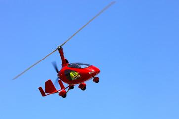 Red autogyro