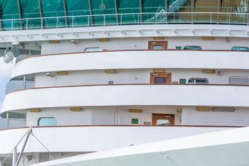 Curving Decks on Cruise Ship