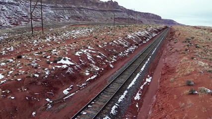 Railway laid in Canyonlands National Park