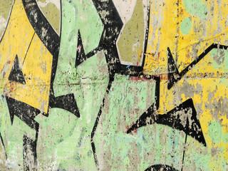 Oldschool Graffiti on Wall Texture