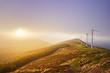 wind turbines in Oiz eolic park - 81292327
