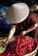 Mercato di Hue, Vietnam