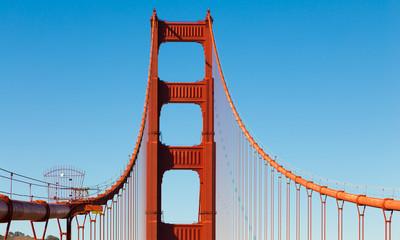 The Golden Gate bridge in San Francisco, California - USA